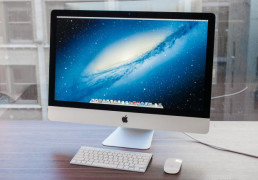 JUAL Second iMac Slim 21inch MD093 Mulus Garansi Juni 2014